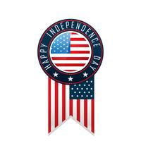 amerikanska lyckliga självständighetsdagen