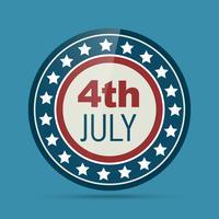 Badge du 4 juillet