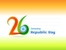 dag van de republiek ontwerp illustratie