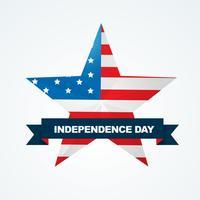 disegno della bandiera americana