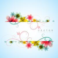 fundo elegante flor