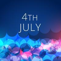 elegante 4 de julho de fundo
