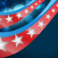 amerikanische flagge design
