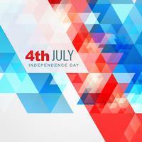 abstrakten Stil 4. Juli