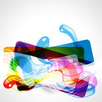 design gráfico colorido