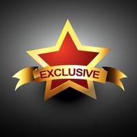 exclusive vector icon