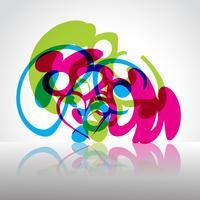 forme de vecteur coloré