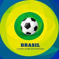 Brazilië soocer spel