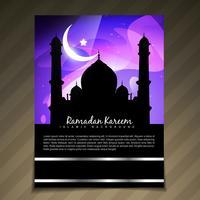 modèle de ramadan élégant