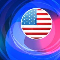 stilvoller amerikanischer Hintergrund