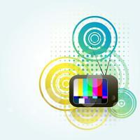 tv style background