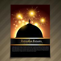 ramadan festival sjabloon