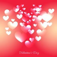 valentin dag hjärta bakgrund