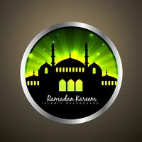 vector islamic label
