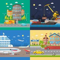 Vervoer van passagiers en levering van goederen
