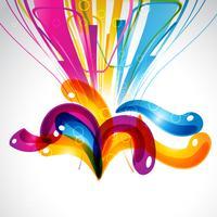 abstract kleurrijk stijlvol ontwerp