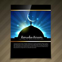 ramadan kareem-sjabloon