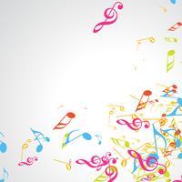 Vektor-Musik-Design