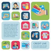 Kredit livsuppsättning