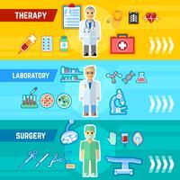 Arzt-Banner-Set