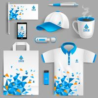 Identidad Corporativa Azul