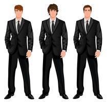 Set uomo d'affari