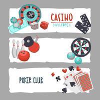 Banner de diseño de juego