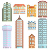 House Icons Flat Set