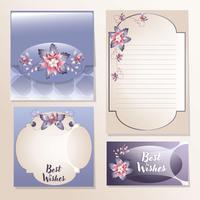 design elegante envelope