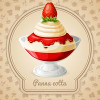Panna cotta badge