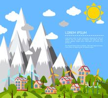 Cartel mundo verde