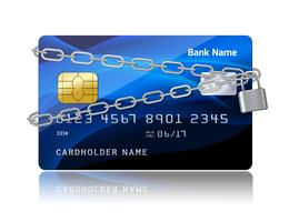 Payment security of credit card with chip