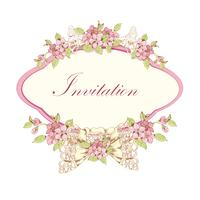 Invito di ciliegie in fiore