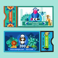 Zoo Biljetter Set