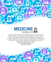 Healthcare and medicine doctors background