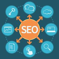 Concepto de marketing SEO