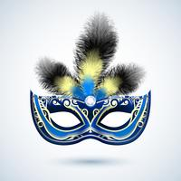 Emblema de máscara de festa