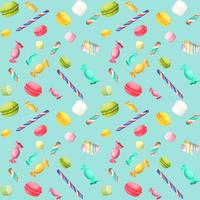 Candy seamless pattern