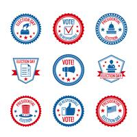 Wahletiketten gesetzt