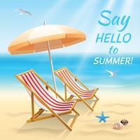 Fond d'écran de vacances d'été