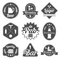 Alcohol bier etiketten badges collectie