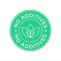 No Additives icon.