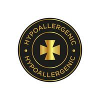 Hypoallergenic icon vector