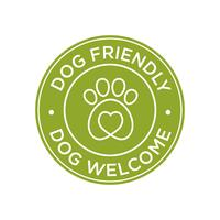 Cão amigável ícone