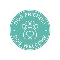 Icône chien amical