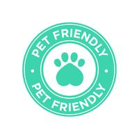 Pet friendly icon.