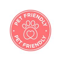 Pet friendly icon.  vector