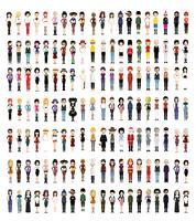 Sammlung von Personenmodellen