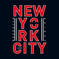 illustration de conception typographique brooklyn pour t-shirt