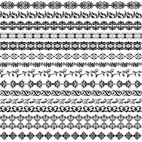 black ornate border pattern
